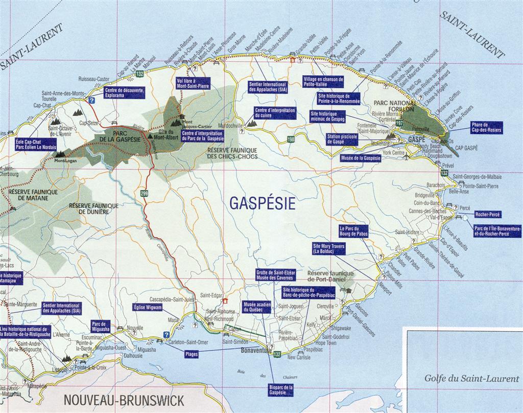 Place:Gaspé-Ouest, Québec, Canada - Genealogy